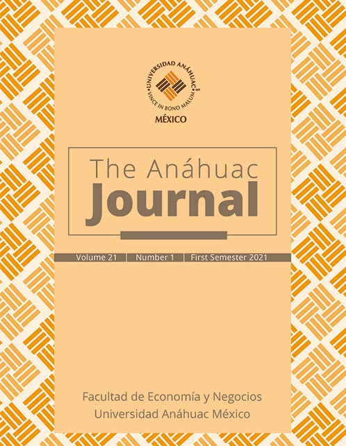 The Anáhuac Journal Vol. 21 No. 1