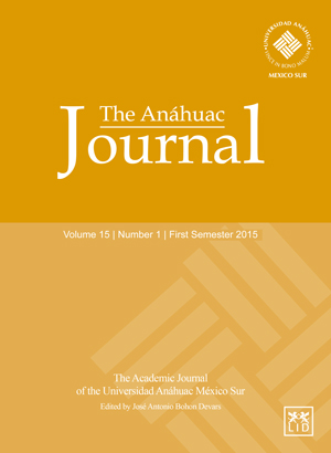 The Anáhuac Journal Vol 15 No 1 First Semester 2015