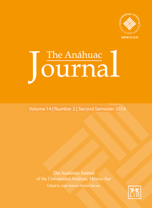 The Anáhuac Journal Vol 14 No 2 Second Semester 2014