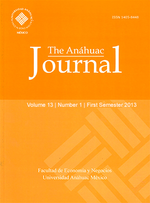 The Anáhuac Journal (First Semester 2013)