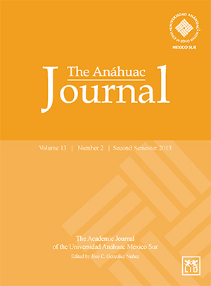 The Anáhuac Journal (Second Semester 2013)